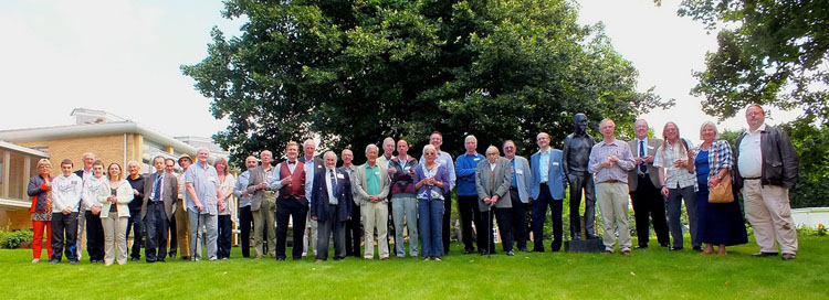 SHA members at the 10th Anniversary Picnic, Institute of Astronomy, Cambridge 21 July 2012