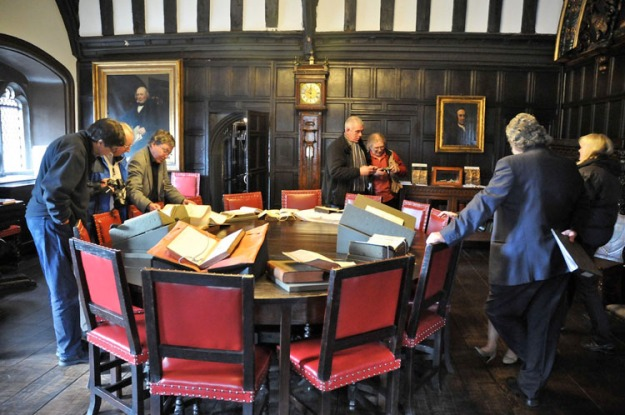 SHA members at the Spring Conference 2010 visit Chetham's Library, Manchester