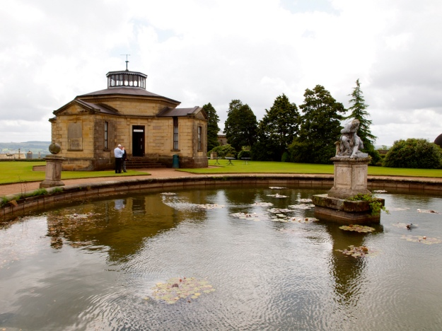The former astronomical, geomagnetic and weather observatory at Stonyhurst School, built 1838