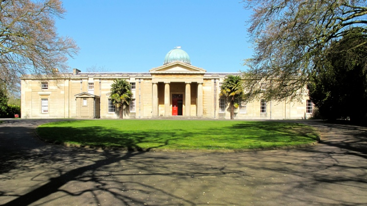 The old University Observatory at Cambridge now houses the Library of the Institute of Astronomy - and the SHA Archive