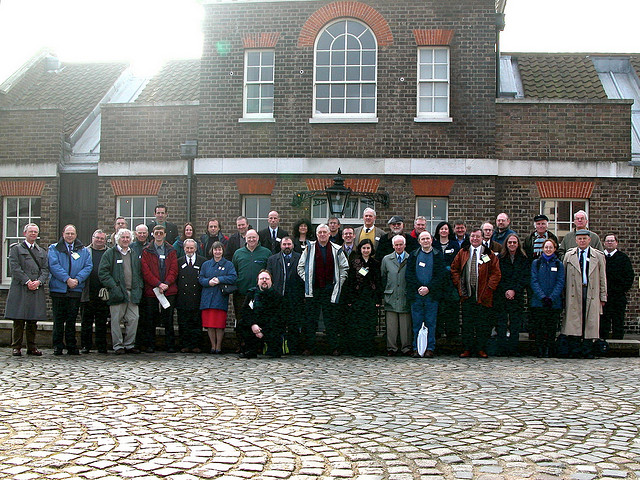 The SHA's first AGM at Greenwich, group photo, 2003